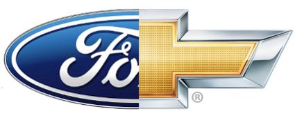 Ford-Chevy-LOGO-FLAT